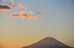 Mt Fuji pod niebem Zdjęcie Stock