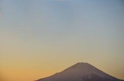 Mt Fuji pod niebem Obrazy Royalty Free