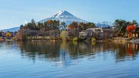Mt Fuji przy Jeziornym Kawaguchiko Obraz Royalty Free