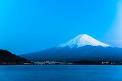 Mt Fuji rises above Lake Kawaguchi. Of Japan stock images