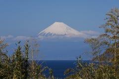 Mt.Fuji. Seen from Izu Peninsula,Shizuoka Prefecture Japan royalty free stock images