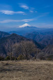 Mt.Fuji seen from the summit Stock Photo