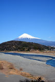 Mt.Fuji with snow Stock Images