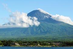 Mt. Fuji in summer Stock Photo