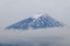 Mt Fuji tło chmurny Obraz Stock