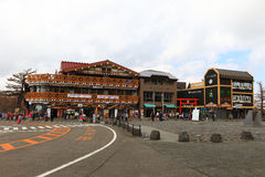 Mt Fuji 5th station Arkivbilder