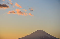 Mt Fuji unter dem Himmel Stockfoto