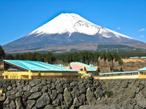 Mt Fuji view Stock Photo