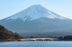 Mt Fuji View from Kawakuchigo Lake Stock Image