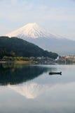 Mt Fuji view Stock Image