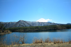 Mt. Fuji view Stock Image