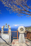Mt. Fuji view from Lover's Cape Stock Image