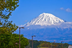 Mt Fuji view Royalty Free Stock Photos