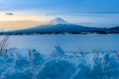 Mt Fuji in Winter, Japan Stock Photography