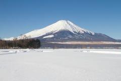 Mt.fuji. In winter season Stock Images