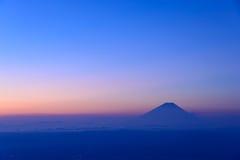 Mt Fuji y mar de nubes Fotografía de archivo libre de regalías