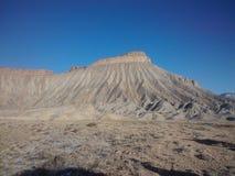 Mt Garfield dans le Colorado Photographie stock libre de droits
