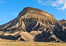 Mt. Garfield, The Book Cliffs Royalty Free Stock Photo