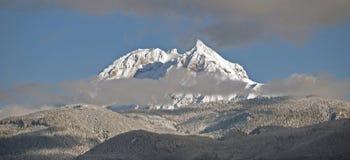 Mt. Garibaldi with Diamond Peak Royalty Free Stock Images