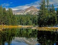 Mt.Gibbs with lake Royalty Free Stock Photos