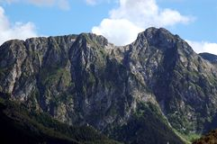 Mt Giewont Royalty Free Stock Images