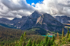 MT-Glacier National Park-Grinnell Glacier trail Stock Photo