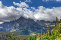 MT-Glacier National Park-Grinnell Glacier trail Royalty Free Stock Image
