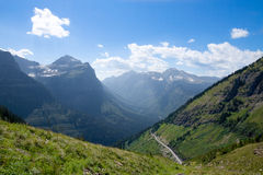 MT-Glacier National Park-Highline Trail Stock Images