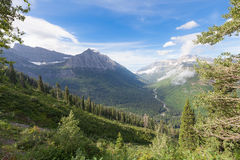 MT-Glacier National Park Stock Photo