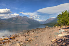 MT-Glacier National Park-Lake McDonald Royalty Free Stock Photos