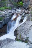 MT-Glacier National Park waterfall Royalty Free Stock Image