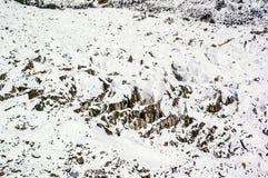 Mt. Gongga(Minya Konka) No.1 Glacier close-up Royalty Free Stock Image