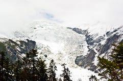 Mt. Gongga(Minya Konka) No.1 Glacier close-up Stock Photography