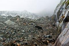 Mt. Gongga(Minya Konka) No.1 Glacier close-up Royalty Free Stock Photography