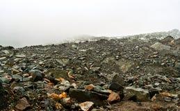 Mt. Gongga(Minya Konka) No.1 Glacier close-up Royalty Free Stock Photos