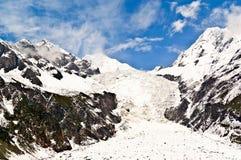 Mt. Gongga(Minya Konka) No.1 Glacier Royalty Free Stock Photos