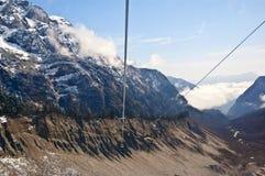 Mt. Gongga(Minya Konka) scene Royalty Free Stock Images