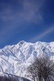 Mt. Goryudake, Nagano Japan. Mt. Goryudake, snow covered mountain in nagano japan Stock Image
