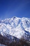 Mt. Goryudake, Nagano Japan. Mt. Goryudake, snow covered mountain in nagano japan Stock Images