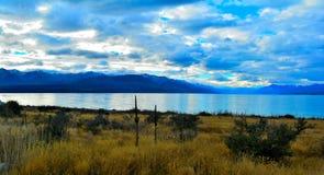 Mt-Haken-Nationalpark, Neuseeland Lizenzfreies Stockbild
