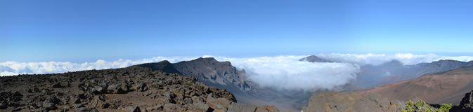 Mt. Haleakala Fotografia Stock