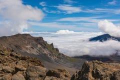 Mt Haleakala Images libres de droits