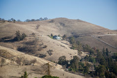 Mt. Hamilton. Lick Observatory on Mount Hamilton, San Jose, CA stock photography