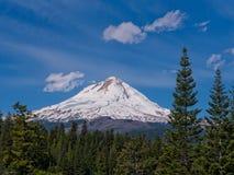 Mt Haube angesehen vom Osten Stockfotografie