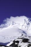 Mt. Haube Convered im Schnee Stockfoto