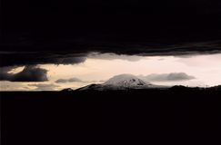 Mt. Hekla Volcano, Iceland Royalty Free Stock Photo