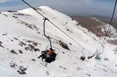 Mt Hermon - Israel Royaltyfri Bild