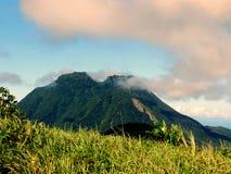 Mt Hibok - Hibok 库存图片
