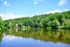 Mt Holyoke学院校园风景 免版税图库摄影