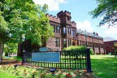 Mt Holyoke学院校园风景 免版税库存照片